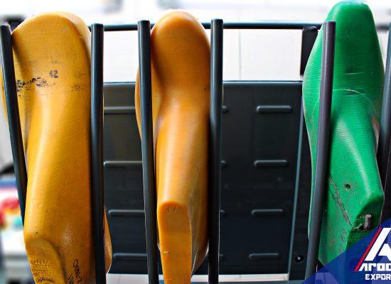 Varillas flexibles, ajustables a cualquier tamaño de la horma del zapato