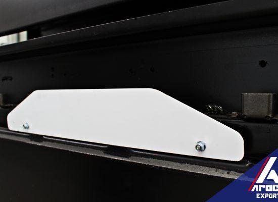 Topes manuales ajustables para las vías flexibles de montado y pespunte