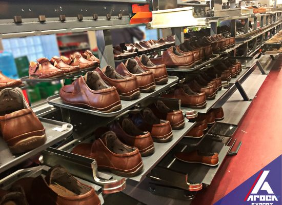 Maquinaria para calzado o vía flexible de montado